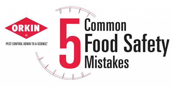 5 Common Food Safety Mistakes