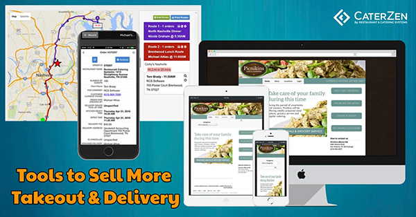Caterzen - online ordering and deliver