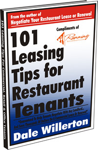 101 Leasing Tips for Restaurants