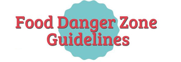 Food Temperate Danger Zone Guide