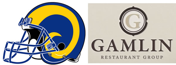 Rams Donations by Gamlin Restaurant Group