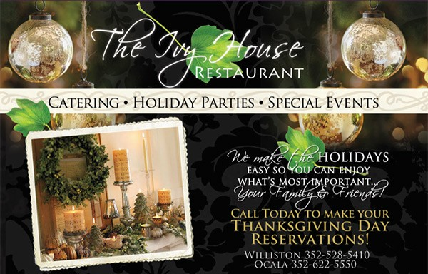 Ivy House Holiday Promo