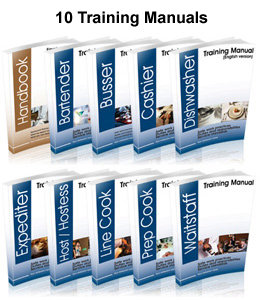 Restaurant Kitchen Operations Manual restaurant training package (50 templates) - restaurant management